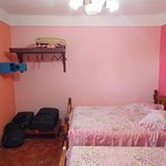 Comfortable room: aircon, safe & fridge