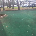 Pool was locked , putting green not kept up