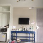 AC room with safe box, TV, fridge. free tea/coffe/water