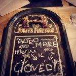"""Da Giovedi arriva l'  """"ALTrO Mare"""" menù"""