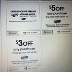 Great deals and coupons. 50% off, $5 off and $3 off.
