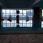 Supervised indoor pool.