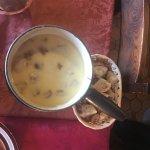 La fondue aux cèpes