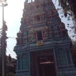 Though the temple is located on a busy road connecting Secenderabad and Hyderabad inside temple