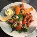 Lovely dishes served at the crown