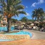 Beach, pool and one bedroom suite / bed too small for anyone over 10 years of age