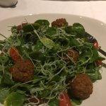 Delicious Falafel salad