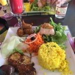 Première pause déjeuner en arrivant à la Martinique. Service agréable et déjeuner Créole très ap