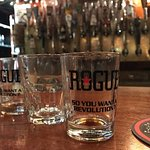 Rogue beer and Rogue whiskey