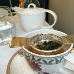 Perfectly blending teas using beautiful china, Afternoon Tea, Drawing Room, Flemings Mayfair