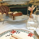 Exquisite fresh sandwiches, Afternoon Tea, Drawing Room, Flemings Mayfair
