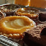 Almond tarts.