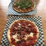 Custom made pizzas