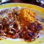 BISTEC POLLO SATURDAY SPECIALS ON MENU