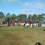 South Georgia Middle School Golf Tournment...Lots of kids playing golf