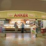 Anker pastry in the underground concourse of Karlsplatz U-Bahn stop