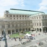 A View of Vienna State Opera from Hotel Room