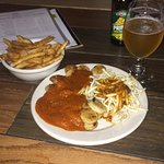 Variety of Beers  and Currywurst