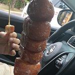 Doughnuts on a stick