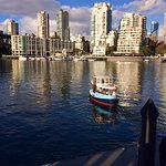 treat yourself and take the Granville Island Ferry across to Bridges