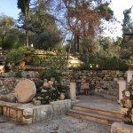 Gartengrab Foto