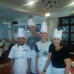 Great fun doing cooking class!