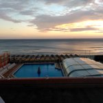 Espléndida vista del Faro de Cabo de Palos desde la terraza del Hotel