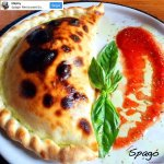 Calzone... only one of our best seller dish