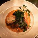 Black lobster ragout with turbot and salmon -amazing taste!