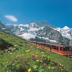 on the way up to Top of Europe - Jungfraujoch