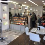 Lovely trendy cafe with great pastries, savoury snacks, sandwiches, coffees. Popular with the lo