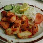 Chicken Tikka Salad Starter