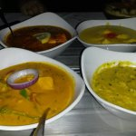 Bland curries and good tarka dhal
