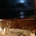 For a fancy meal with an amazing view, that's not a bad price. Would be MUCH more in North Ameri