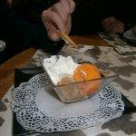 Glace mandarine