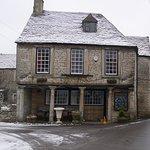 Bear Inn in the snow