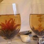 flowering tea...