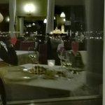 Vistas nocturnas desde la postal espectaculares como la comida