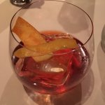 Damn that's a good negroni. Hand chipped ice makes everything better