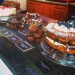 Lots of yummy homemade cakes!