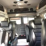 Charlie's interior with comfortable leather seats