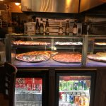 pizza windows and drinks