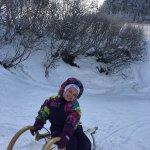 Чудесный отдых если не катаешься на лыжах, дети и взрослые в восторге, санки разной категории!