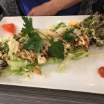 Goat cheese salad , Caesar salad