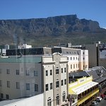 View of Table Mountain from Hotel Room