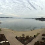 Oakwood Resort view of Lake Wawasee
