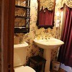 Victorian Rose bathroom