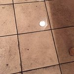 Ski locker room should have had matting in - these tiles were slippery and dangerous