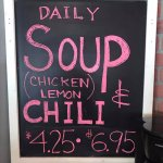 Daily soup selections