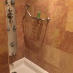 Shower stall - Difficult to use, never did get the jets to work